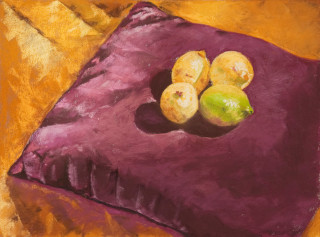 Four Lemons on a Pillow