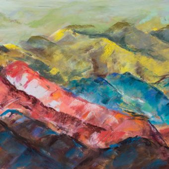 Waves of Mountains Pastel Card_SHOP