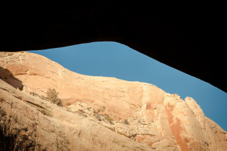 From Monarch Cave Ruins