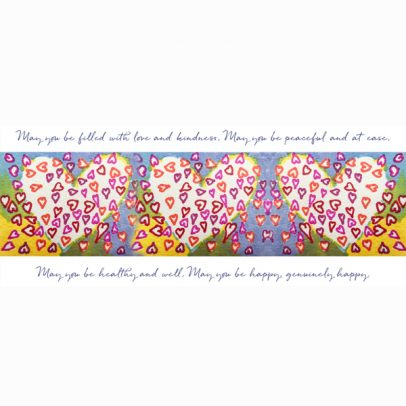 Metta Hearts greeting card_SHOP