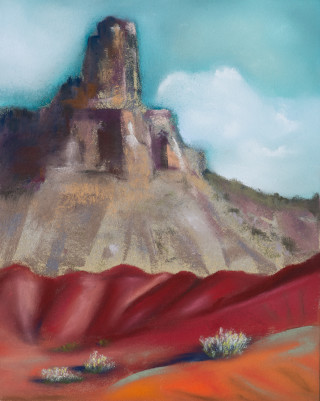 Blue Sky Butte Red Hills