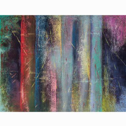 Balancing The Bliss Pastel Painting